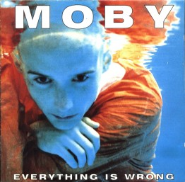 Moby - Everything is Wrong packshot