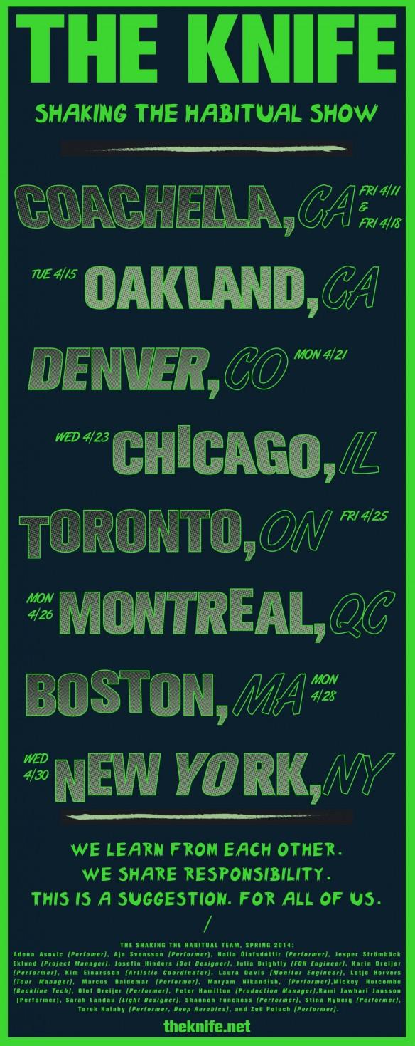 2014 - US Tour - Poster