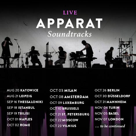 Apparat Tour